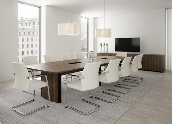 Crown Boardroom Table Range from Southern Office Furniture