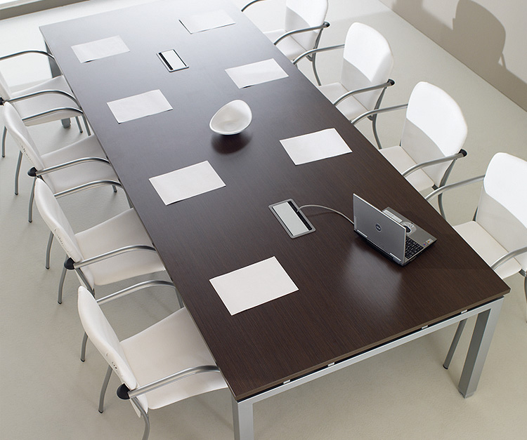 Eco Metal Frame Boardroom Table