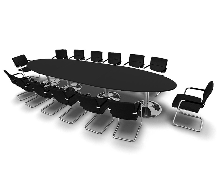 Razor Boardroom Table Range from Southern Office Furniture