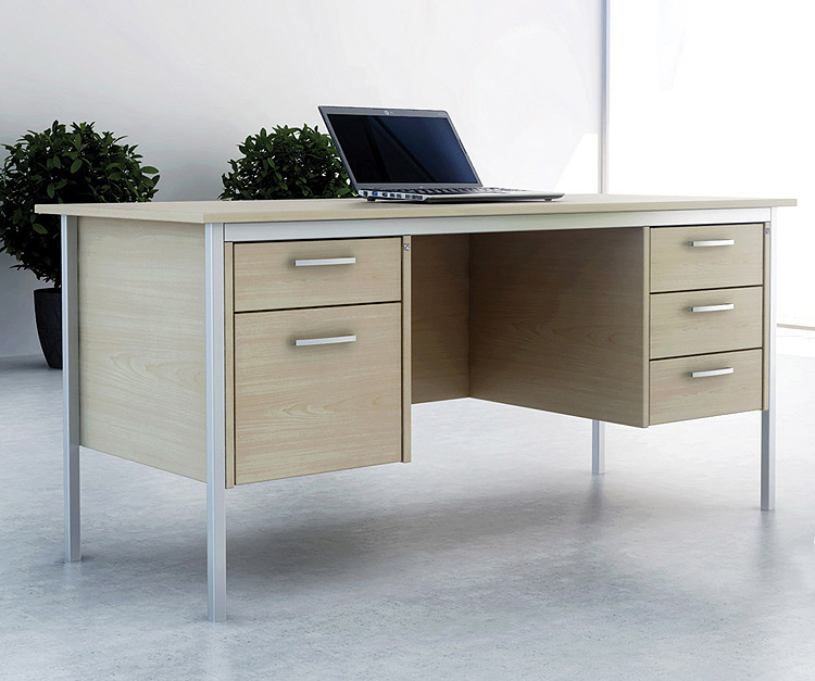 Impact Rectangular Desk Range