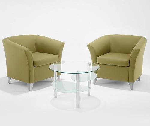 Tub Chair Coffee Table