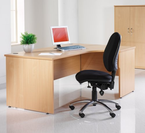 Galaxy Radial Desk & Pedestal Sets