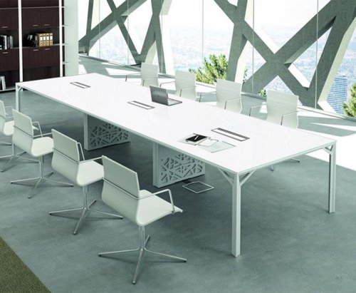 Illusion Glass Boardroom Table Meeting Boardroom Tables - Glass boardroom table