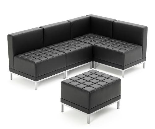 Integrity Modular Bonded Leather Seating