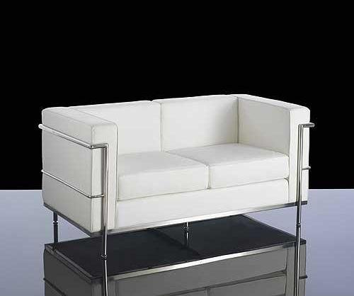 Enjoyable Moon White Bonded Leather Sofa Collection Office Meeting Ibusinesslaw Wood Chair Design Ideas Ibusinesslaworg