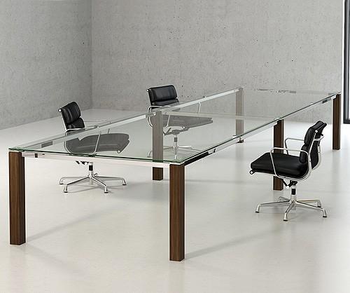 Optimum Glass Boardroom Table Meeting Boardroom Tables - Glass boardroom table