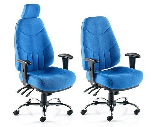 Mercury U0027Fabricu0027 24 Hour Task Chairs
