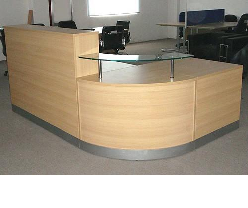 Flame Reception Desk