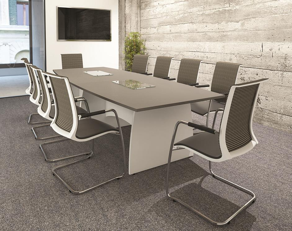 Abstract Boardroom Table