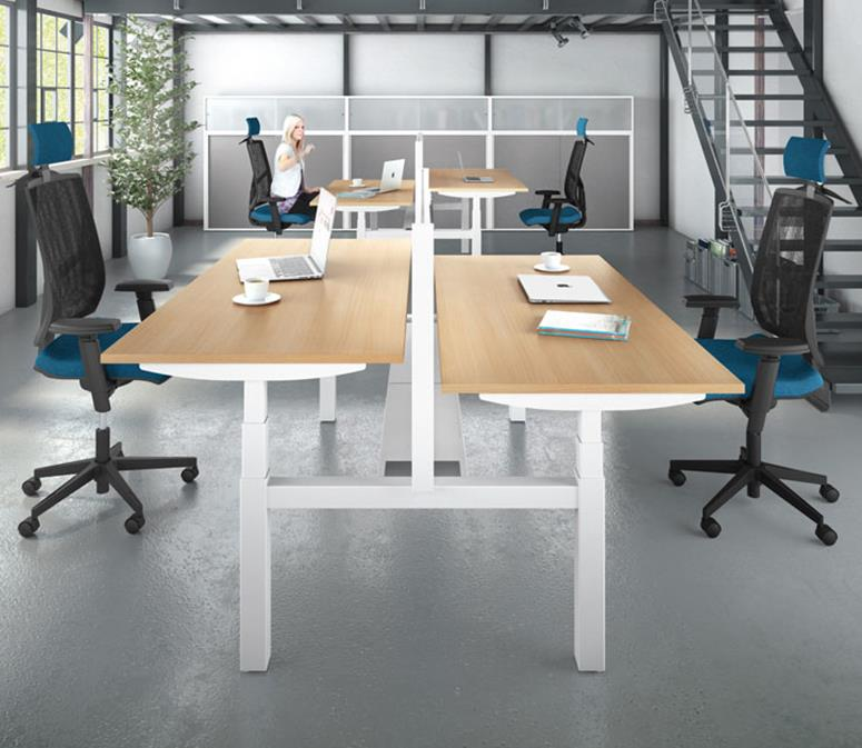 Easy-Up Electric Height Adjustable Office Desk