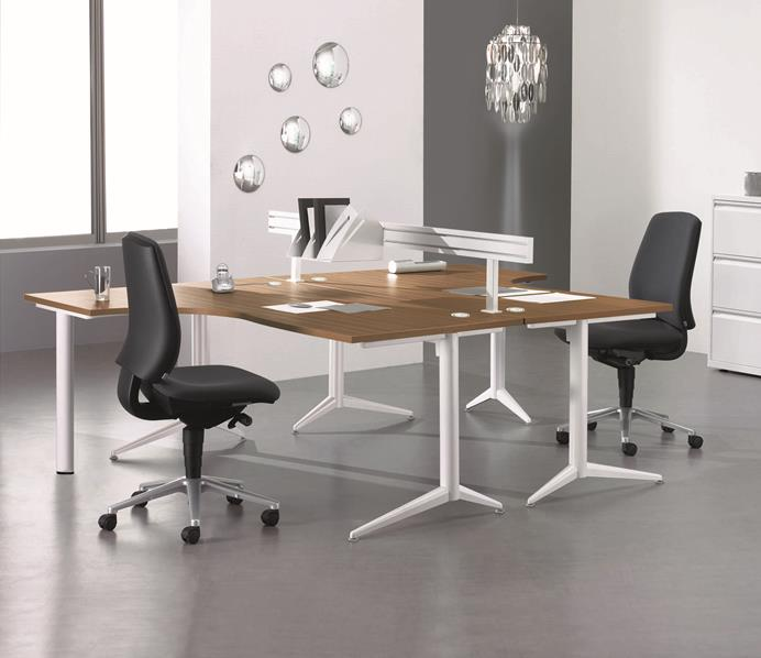Evolution Radial Office Desks