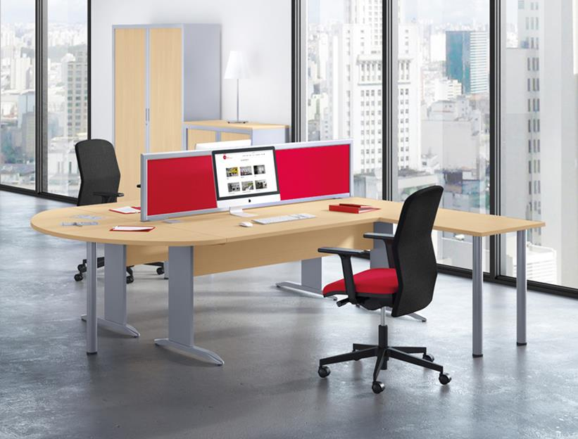 Forstel Rectangular Office Desks