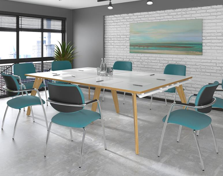 Fuze Compact Meeting Room Table