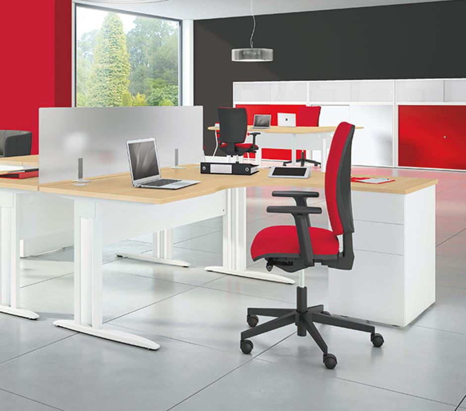 Idol Radial Office Desks