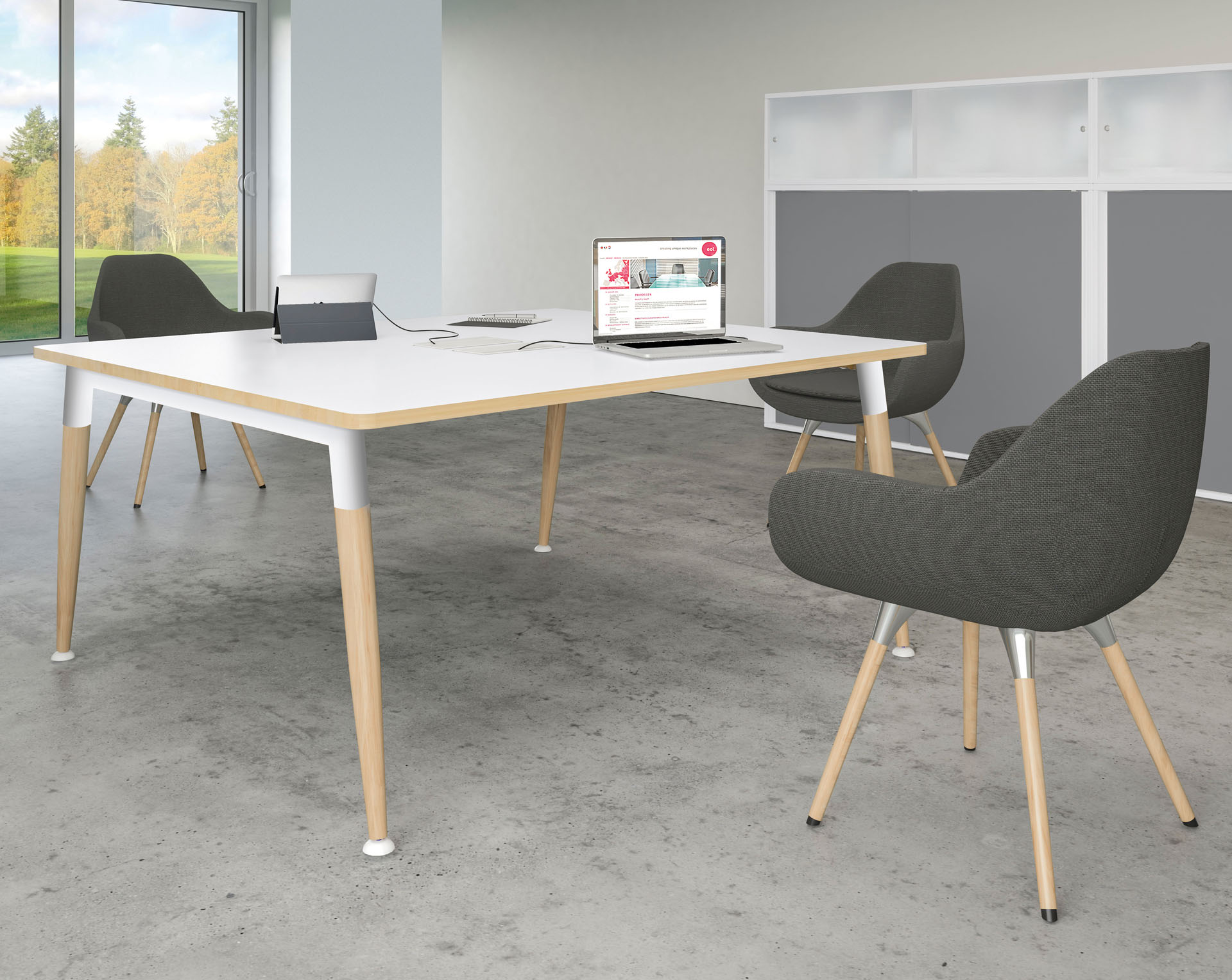 Dignity Compact Meeting Table Range