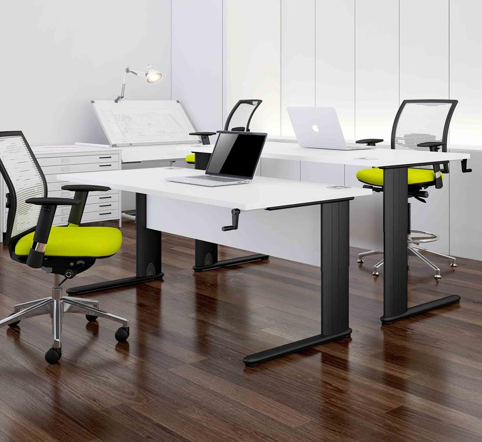 Meyer Height Adjustable Desk