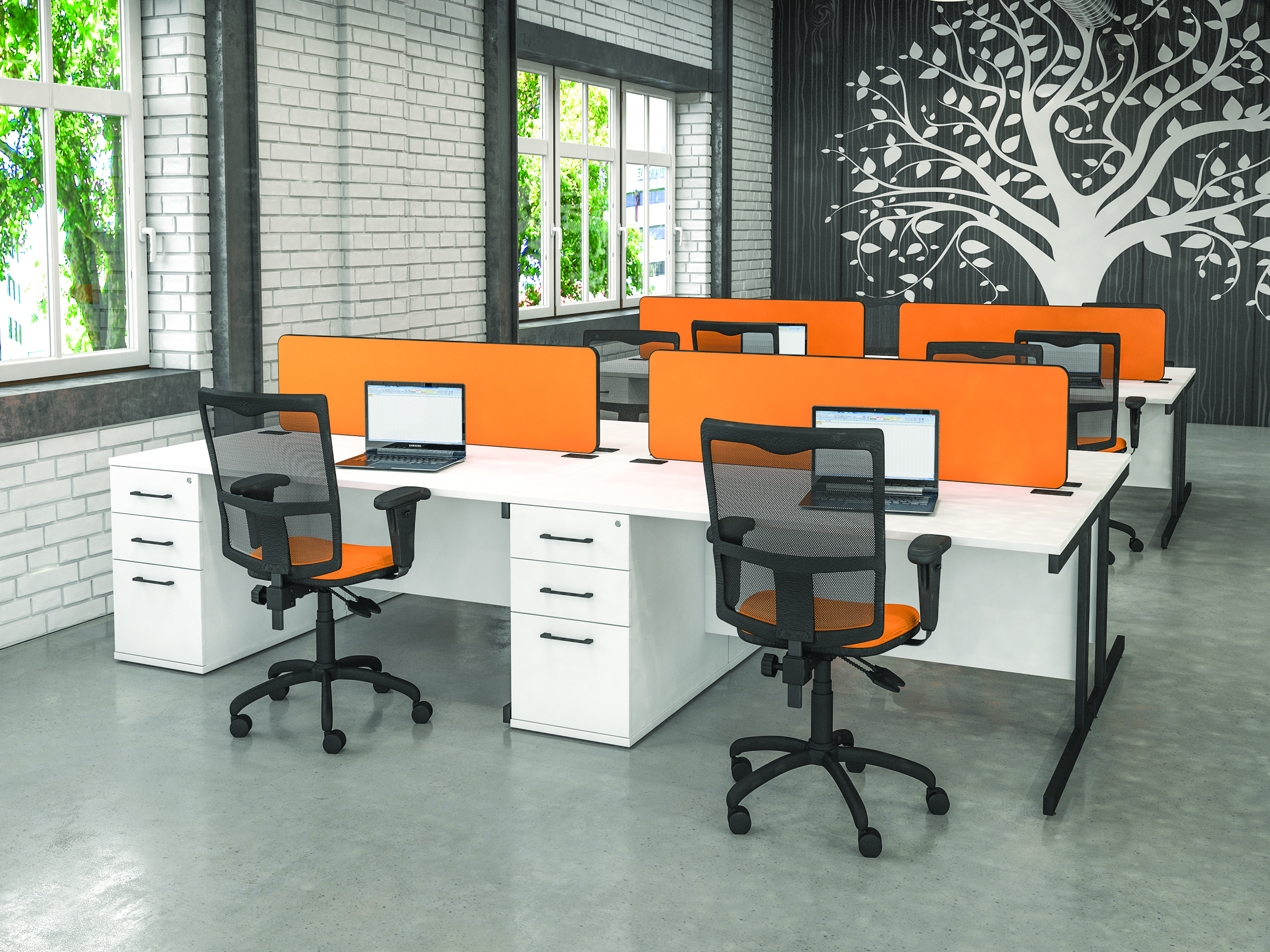 Realm Combination Office Desks