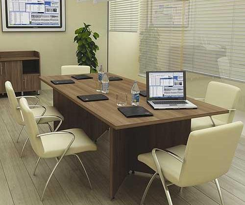 Panache Rectangular Compact Boardroom Table