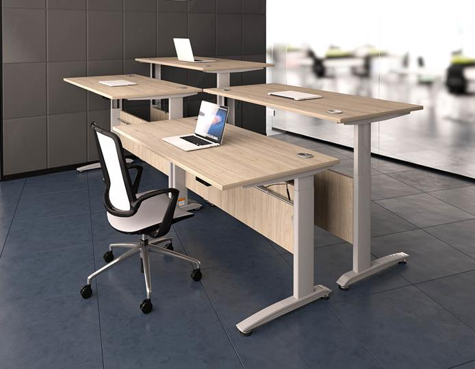 Quartz Height Adjustable Desks Range