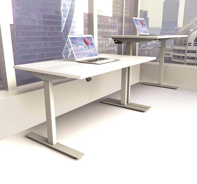 Rise Electric Height Adjustable Office Desk