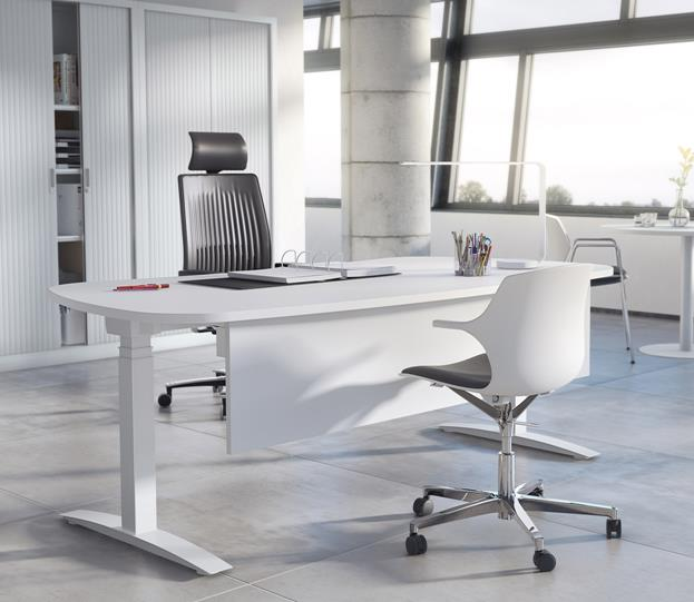 Upstand Electric Height Adjustable Executive Desk