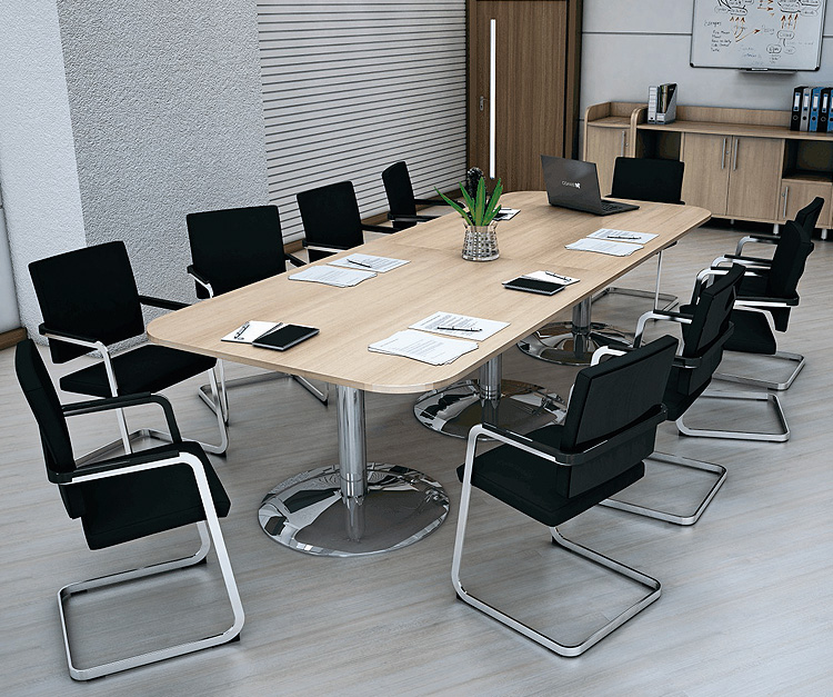 Solstice Melamine Boardroom Table