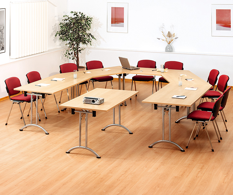 Milan Meeting Room Folding Tables