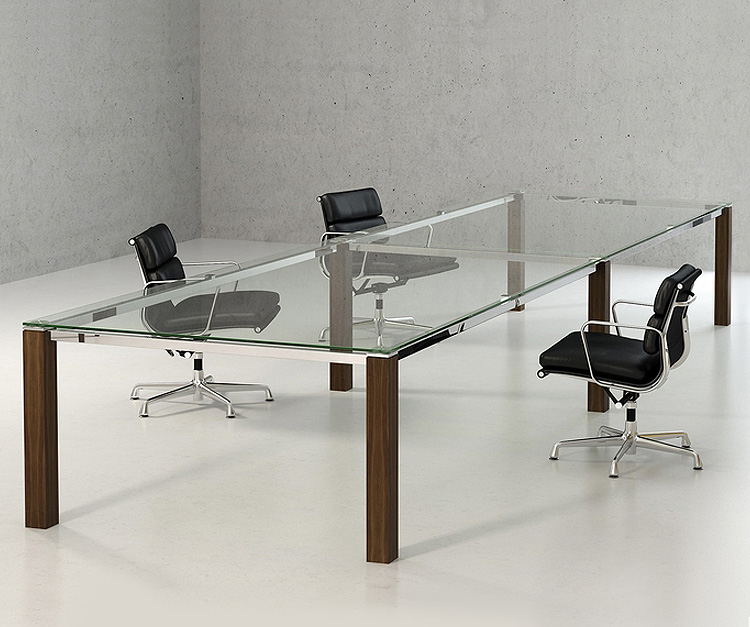 Optimum Glass Boardroom Tables