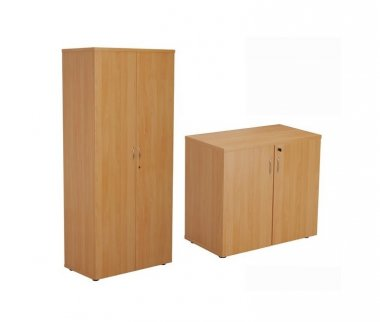 24/48 Hour Beech Double Door Cupboards