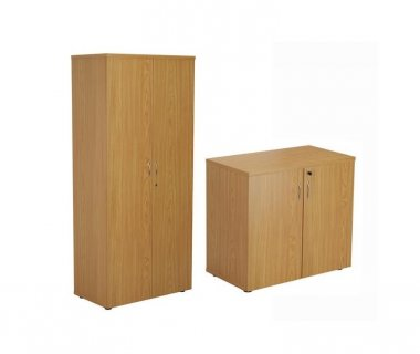 24/48 Hour Oak Double Door Cupboards
