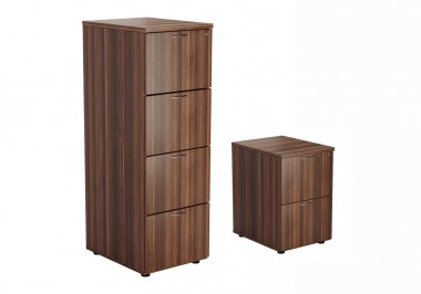 24/48 Hour Walnut Filing Cabinets