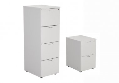 24/48 Hour White Filing Cabinets