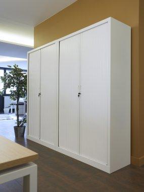 Ariva Side Opening Tambour Cupboard 3 & Premium Tambour Cupboards u0026 Cabinets - Southern Office Furniture