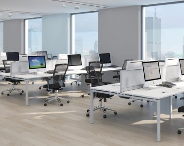 Adaptor Premium 'Full Depth' Bench System Desks