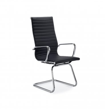 Aria High Back Leather Faced Conference Chair