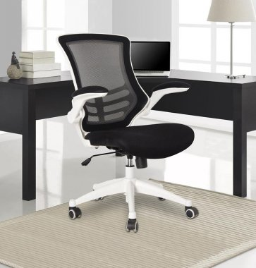 Axis 'White Trim' Mesh Back Operator Chair