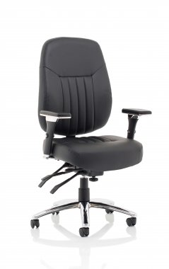 Barcelona Bonded Leather Operator Chair