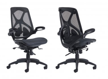 Dolphin Mesh Back & Seat Operator Chair