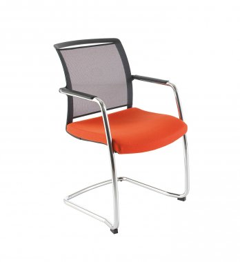 Eternity Cantilever Mesh Back Meeting Room Chair