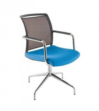 Eternity Swivel Base Mesh Back Meeting Room Chair