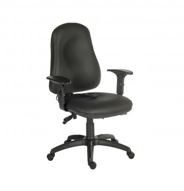 Evolve Faux Leather Operator Chair