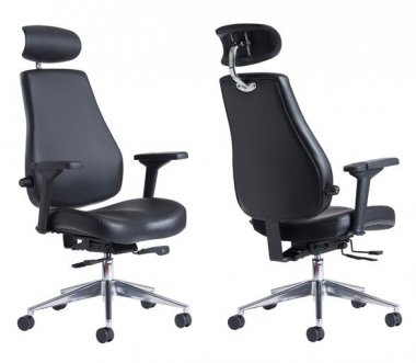Franklin 24 Hour Faux Leather Task Executive Chair