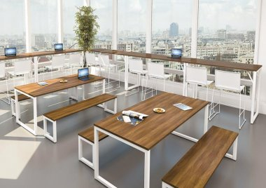 Fusion Bench Tables & Seats