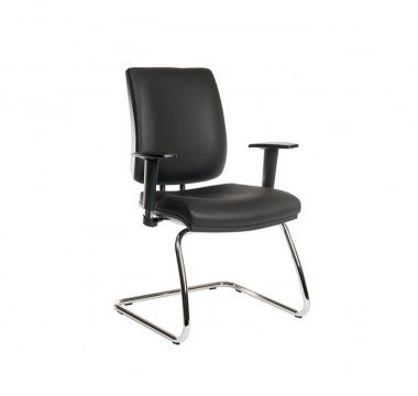 Gamma Faux Leather Conference Chair