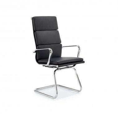 Guardian High Back Leather Faced Conference Chair