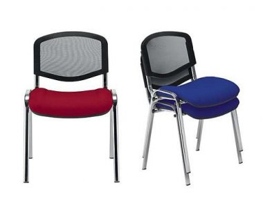 ISO 'Mesh / Fabric' Multi-Purpose Stacking Chair