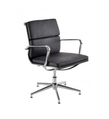Kite Leather Faced Conference Chair