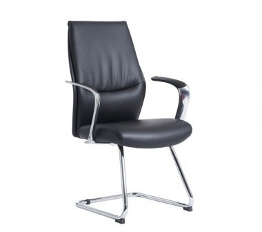 Limoges Leather Faced Conference Chair