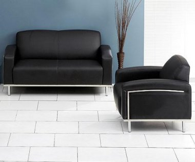 Lotus Bonded Leather Sofa Collection