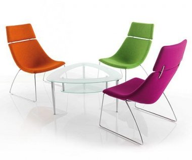 Luna Plus Metal Frame Chair